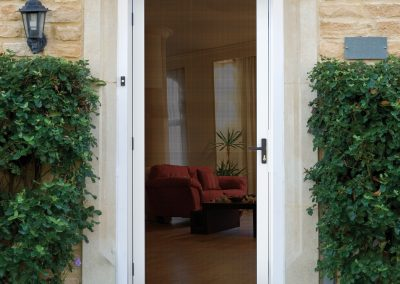 Meshtec Ultimate Screen Door - White