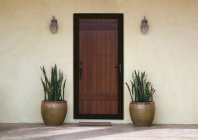 Meshtec Ultimate Screen Door - Bronze