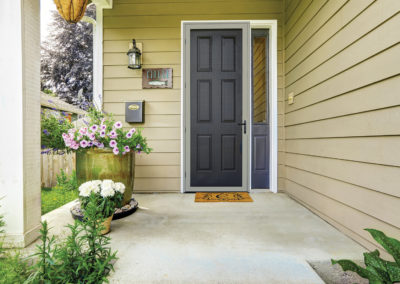 Meshtec Ultimate Screen Door - Almond